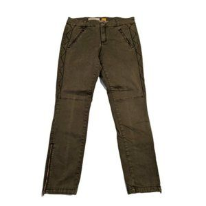 Pilcro & the Letterpress Zipper Moto Skinny Pants